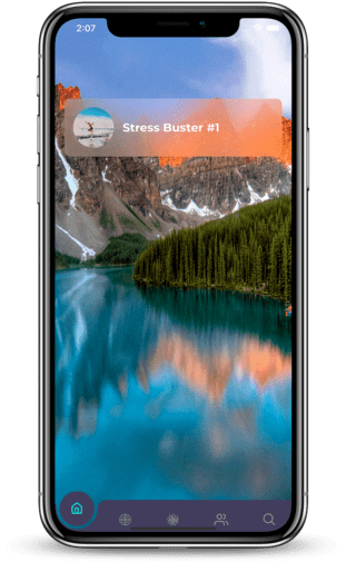 guided meditation app - mindtastik