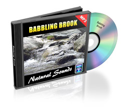 babbling brook nature sounds