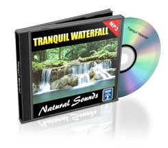 tranquil waterfall nature sounds