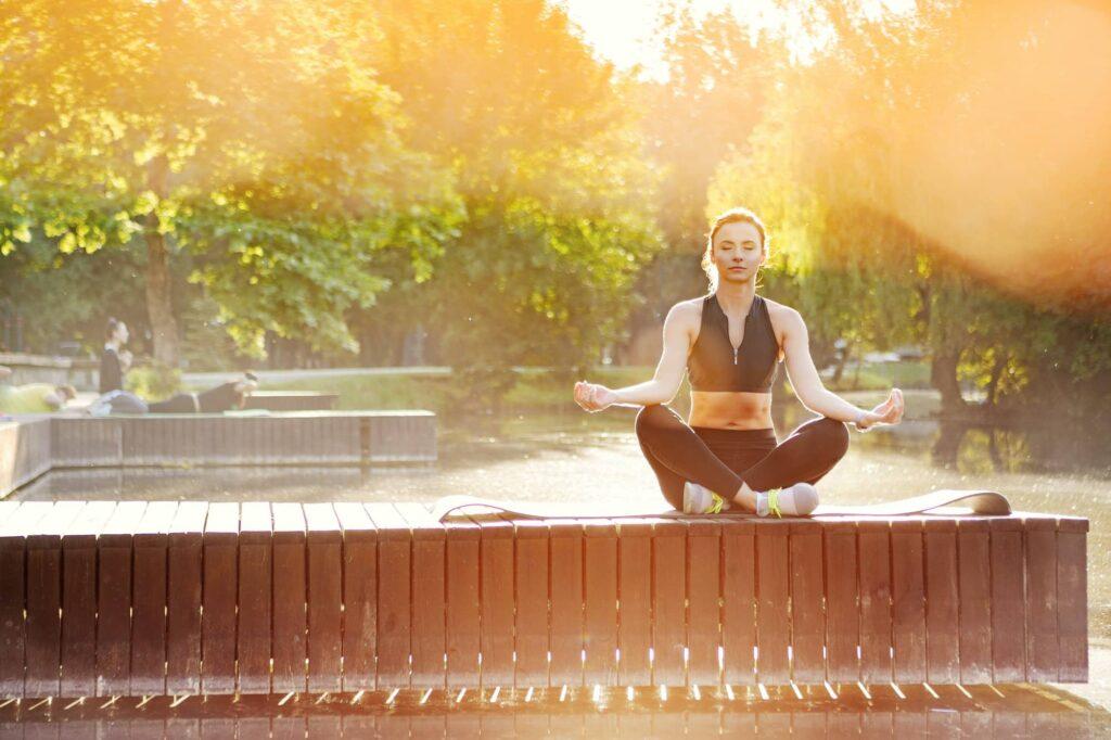 positive morning meditation